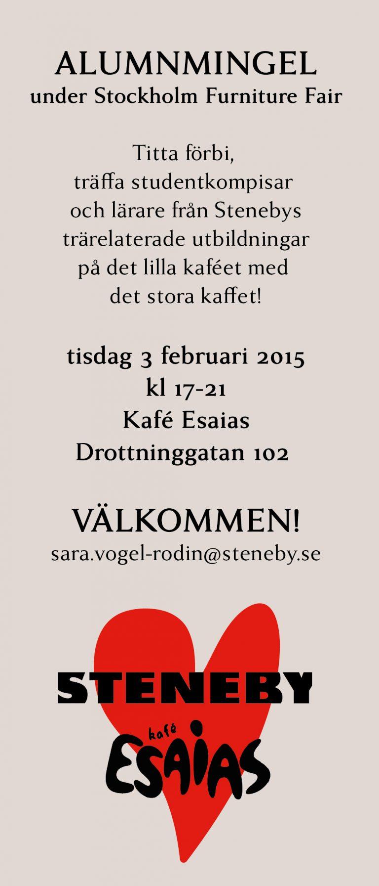 Alumnmingel i Stockholm 3/2