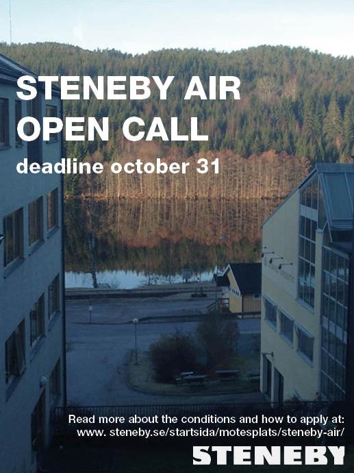 Läs mer om artikeln Dags att söka Steneby AIR
