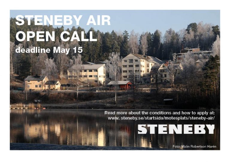 Open Call Steneby AIR