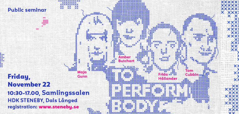 TO PERFORM BODY – NOVEMBER 22