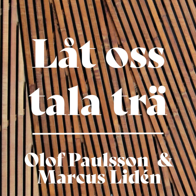 Read more about the article Låt oss tala trä – del 4