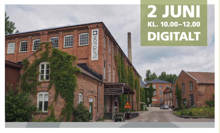Read more about the article Webbinarium 2 Juni: Kulturmiljöer, platsutveckling och cirkulär ekonomi